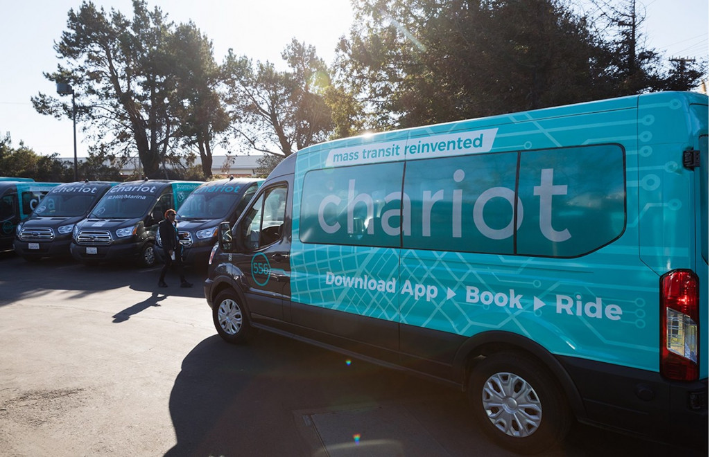 Ford Chariot ride-sharing vans