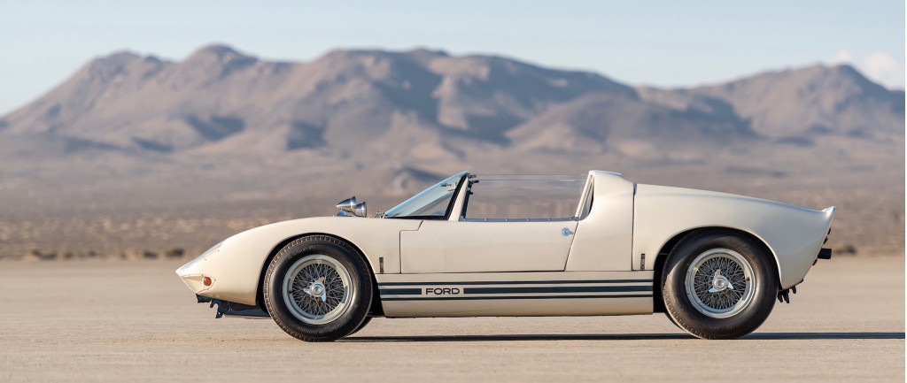 Ford's first GT40 Roadster brings $7.6M at auction