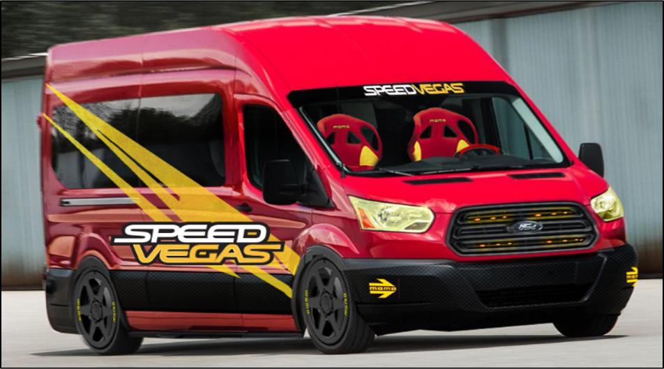 SpeedVegas Ford Transit SEMA