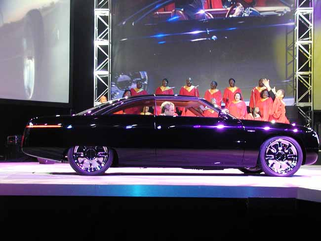 Ford 49er Concept, 2001 Detroit Auto Show