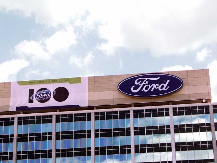 Ford Oval on WHQ