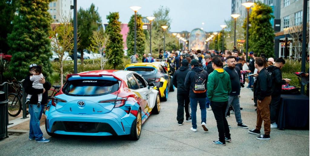 Formula Drift draws a crowd