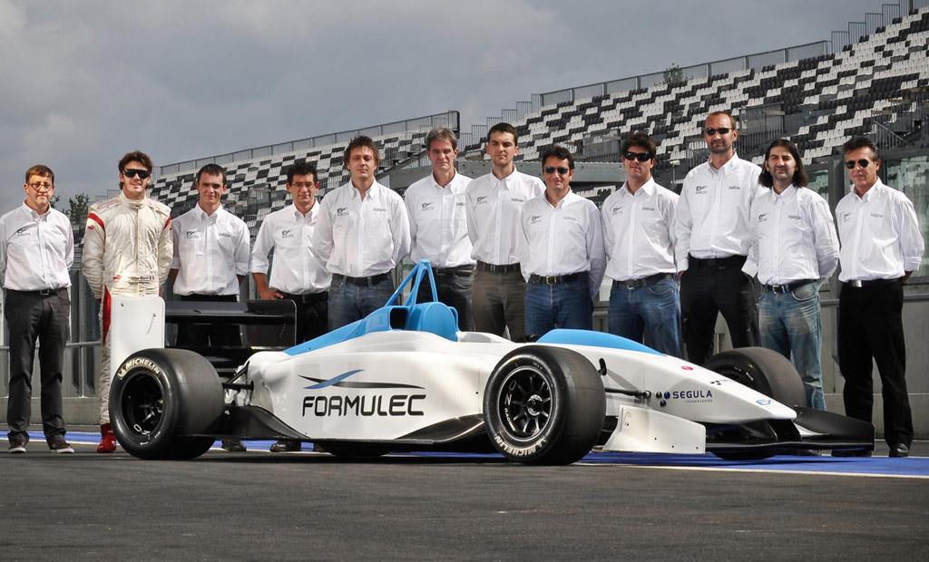 Image Formulec Electric Race Car Size X Type