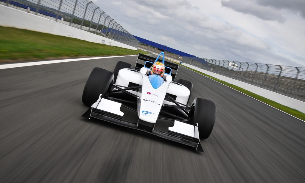 Electric Race Cars To Get On Track Inductive Charging
