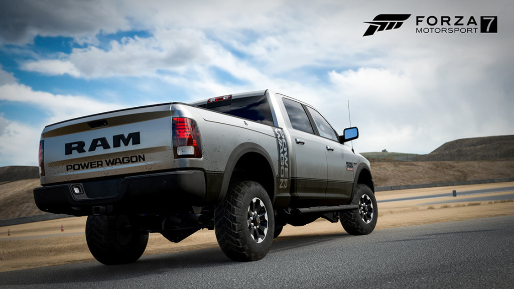 You can now pick between a Chiron or Ram Power Wagon in Forza Motorsport 7