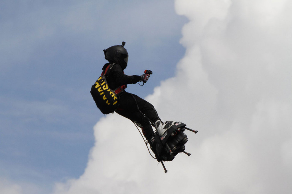 Hoverboard inventor to reveal 250-mph flying sports car this year