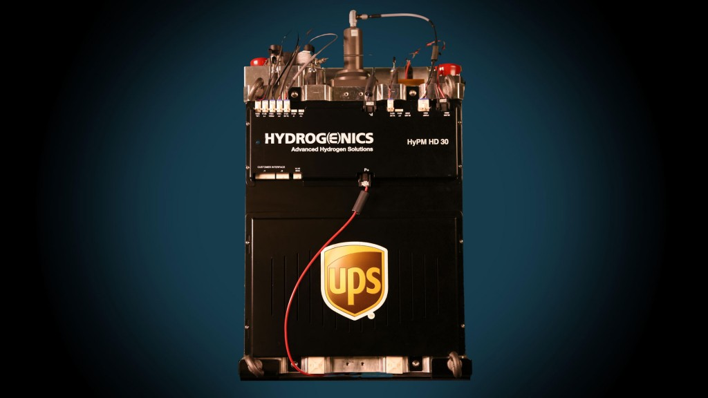 Fuel-cell range extender for prototype plug-in electric delivery van to be tested by UPS in 2017
