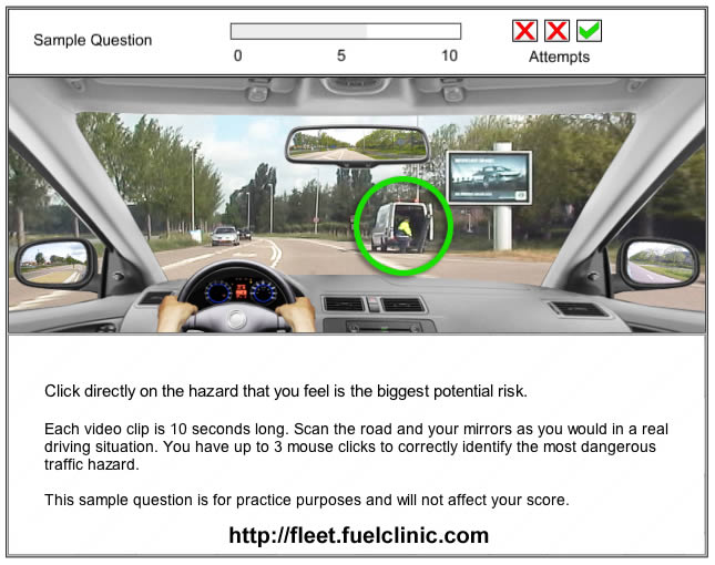 FuelClinic Fleet Hazard Perception Analysis
