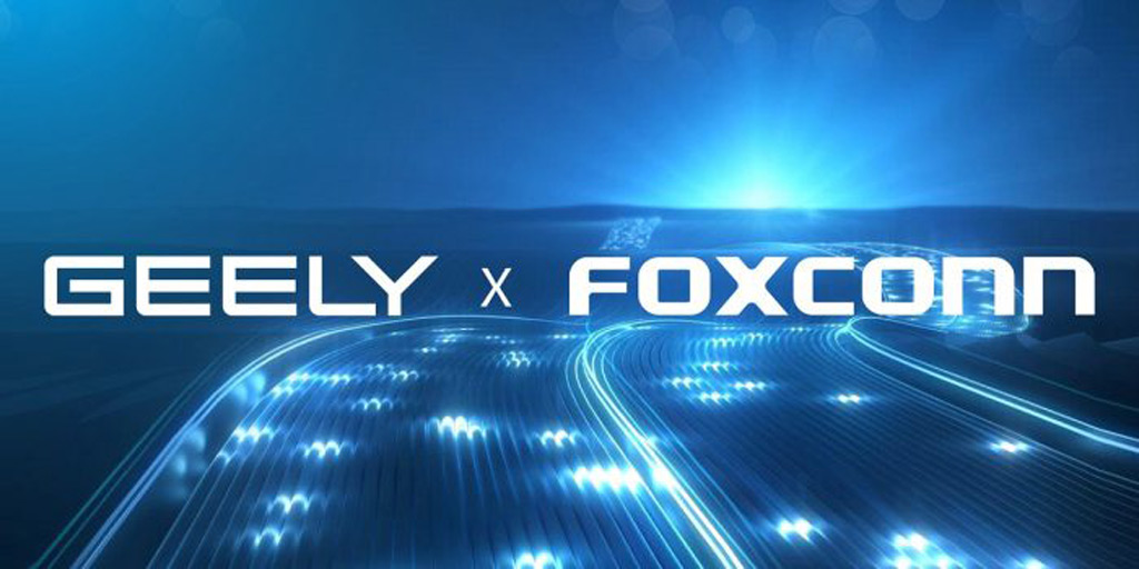 Geely teams up with Foxconn to build cars, parts for other companies