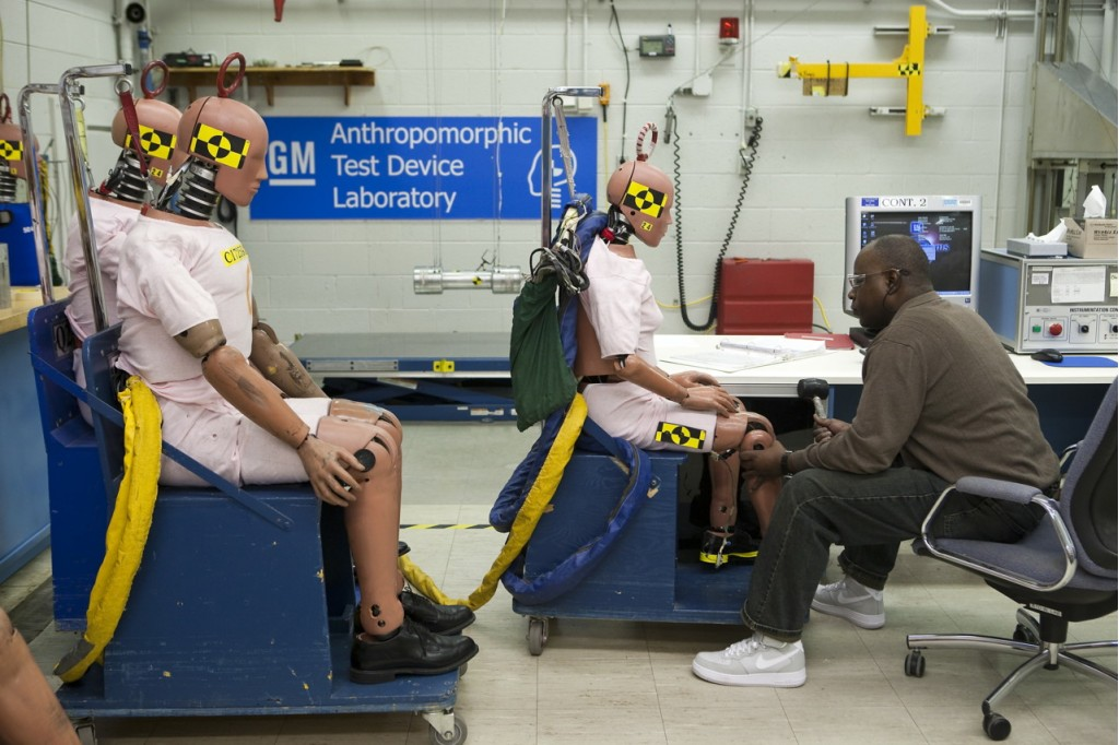 General Motors crash-test dummies