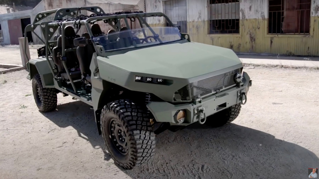 General Motors Infantry Squad Vehicle on Jay Leno's Garage