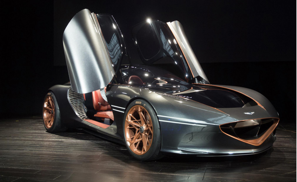 From concept to (virtual) reality: How the Genesis Essentia concept coupe came to be