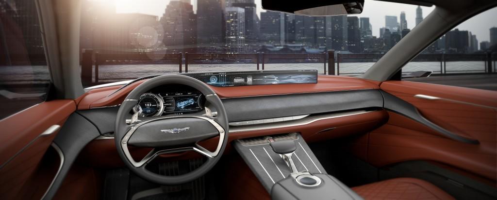 Genesis GV80 concept, 2017 New York auto show