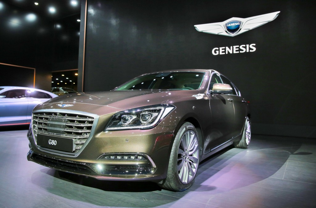 2017 Genesis G80 (Korean spec)