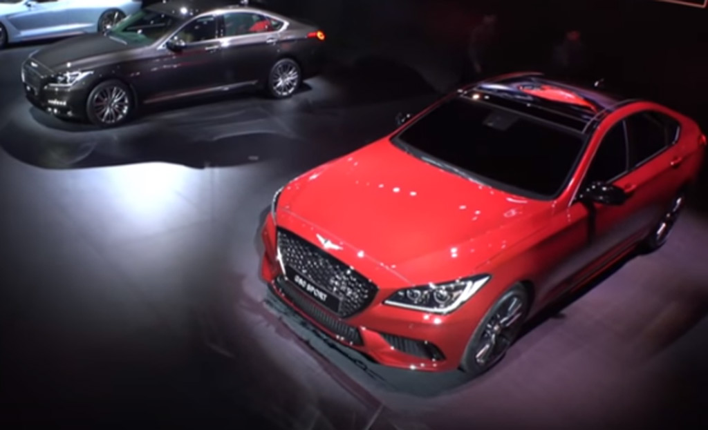 2017 Genesis G80 Debuts In Korea With New Sport Trim