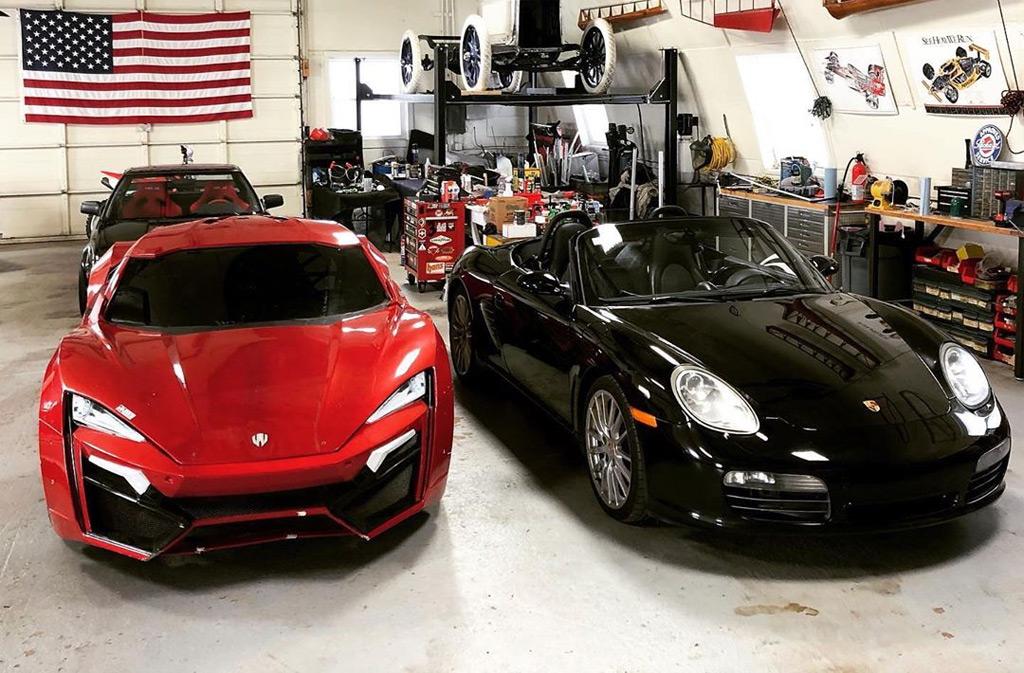 Genius Garage to turn a 2007 Porsche Boxster S into a W Motors Lykan Hypersport