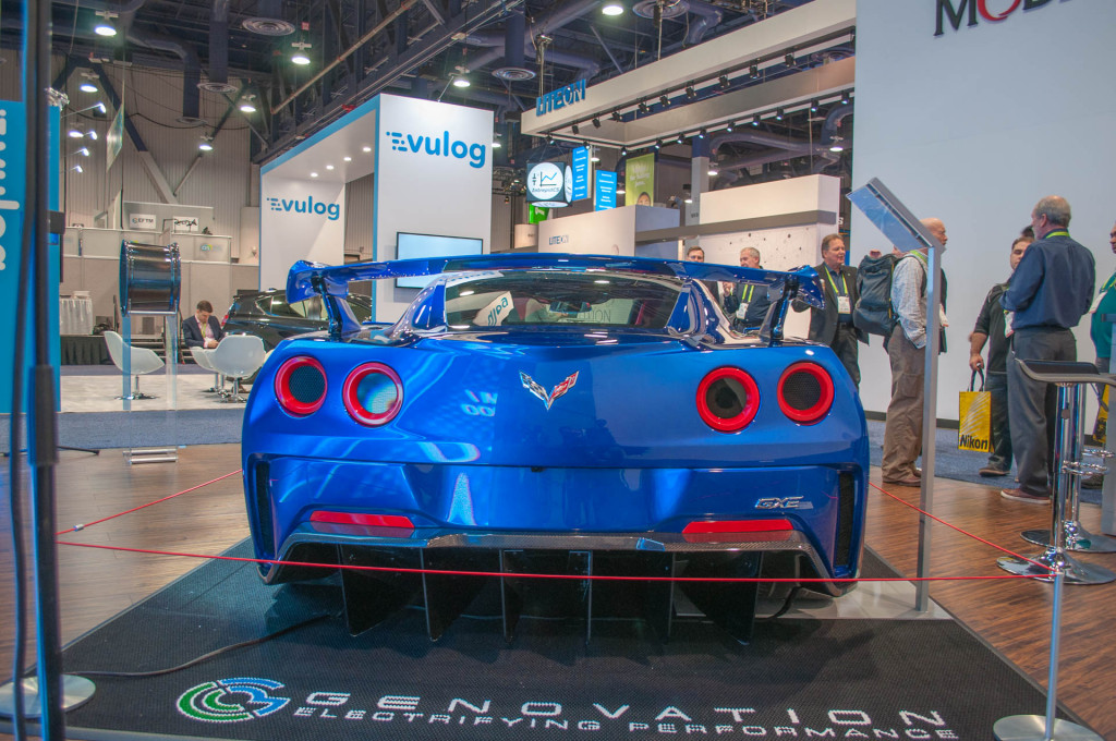 Genovation's 800-horsepower electric Corvette hits the road