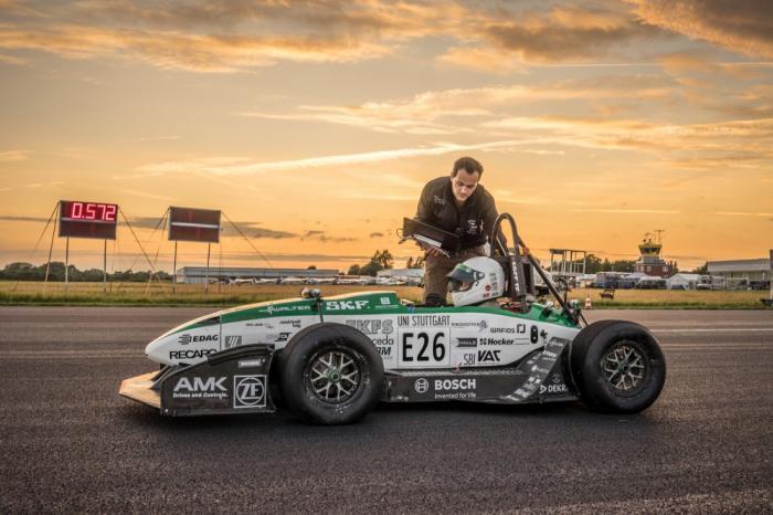 Awd Electric Car >> Awd Electric Car Beats Tesla P90d Acceleration Built By German