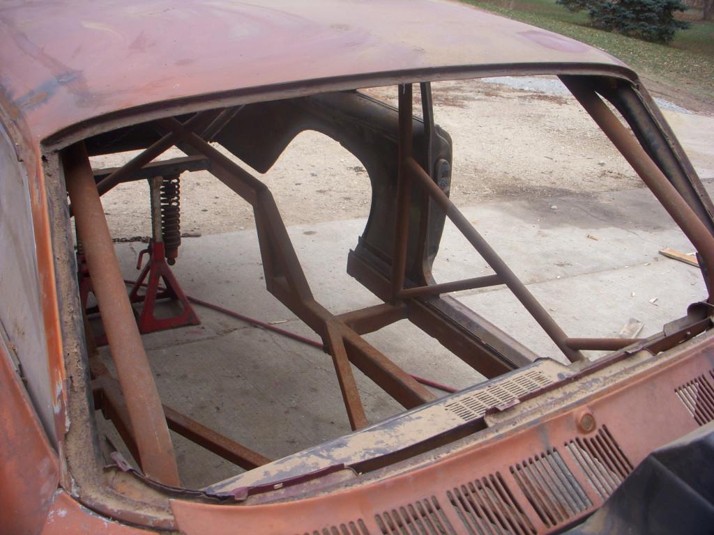 Glenn Bell's 1963 Pontiac Tempest LeMans drag car