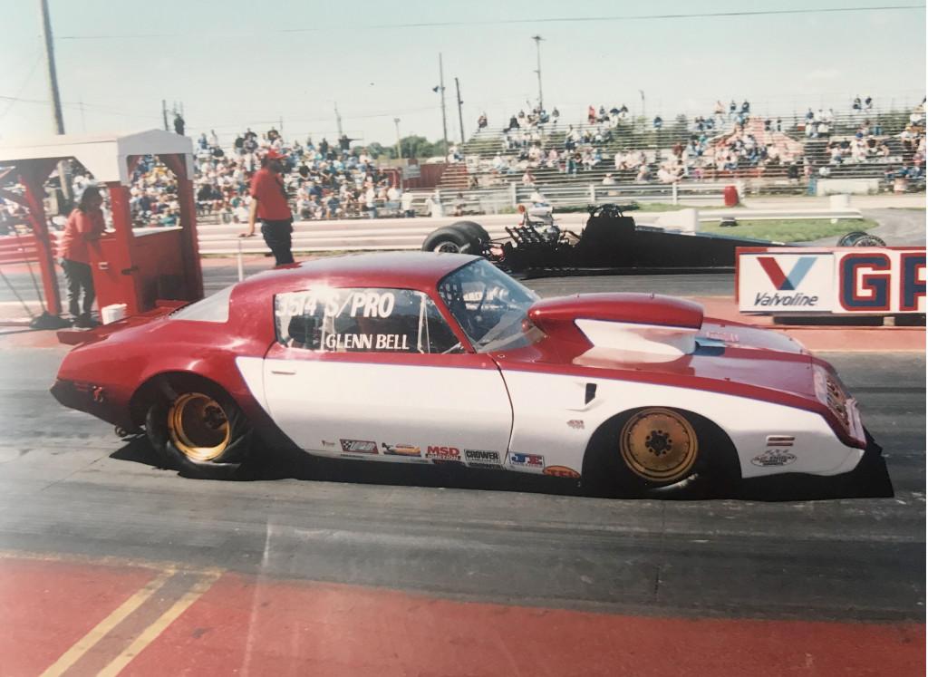 Glenn Bell's 1981 Pontiac Firebird drag car