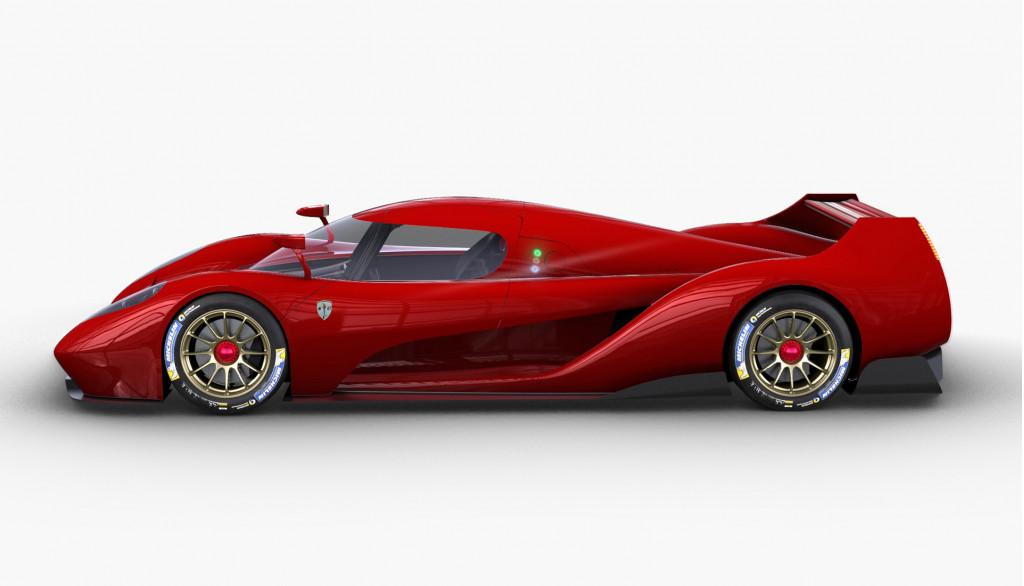 Glickenhaus 007 Le Mans Hypercar