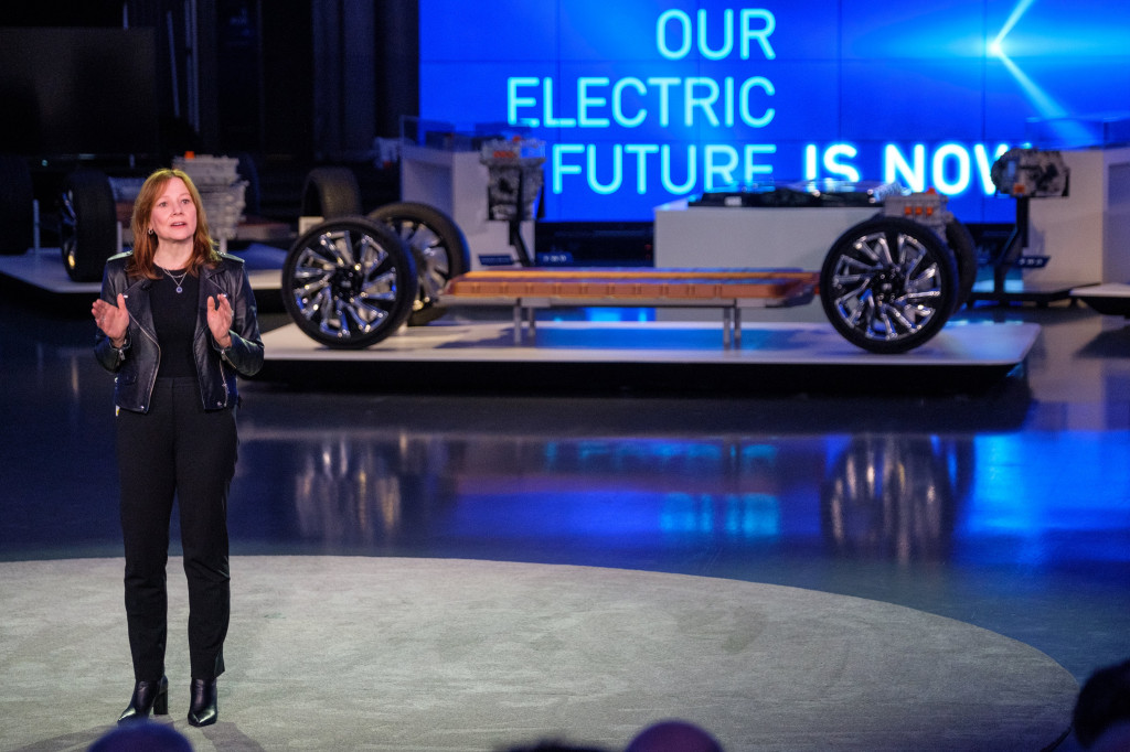 GM CEO Mary Barra - Photo by Steve Fecht for General Motors