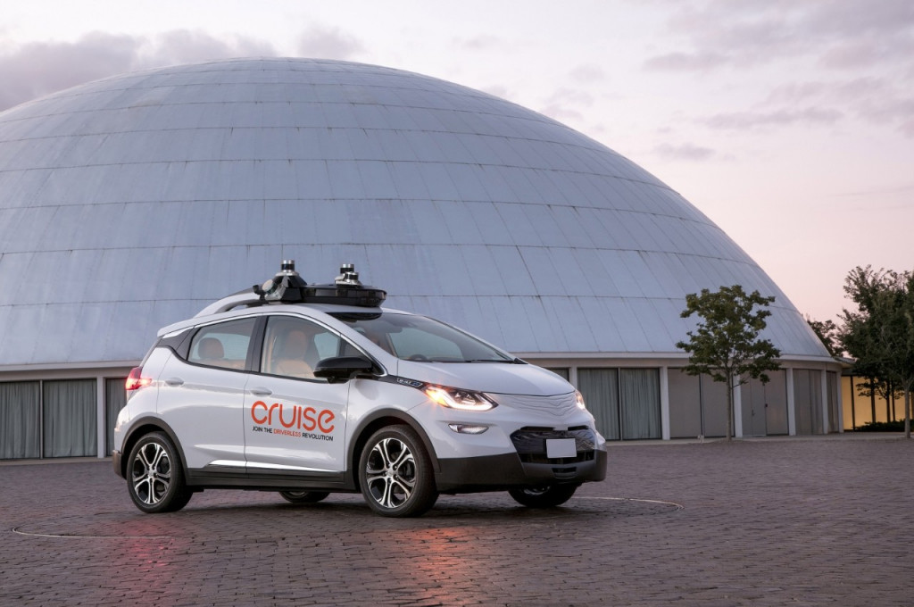 GM Cruise Automation self-driving Bolt EV