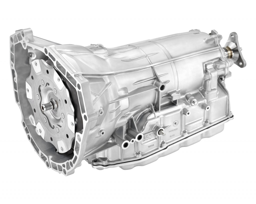 GM Hydra-Matic 8L45 eight-speed automatic transmission
