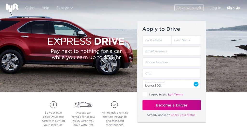 GM & Lyft launch Express Drive program