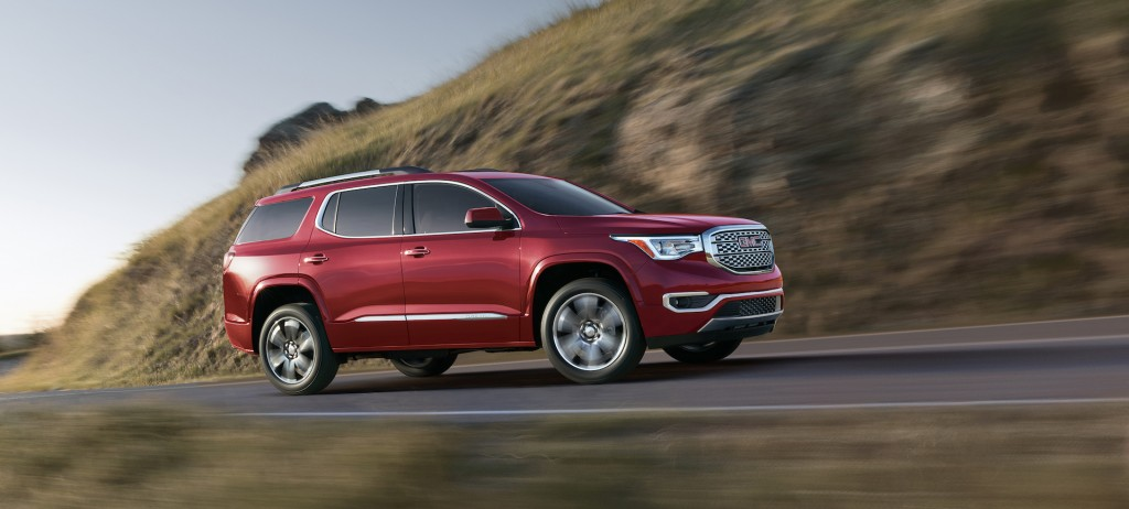 2017 GMC Acadia Review Ratings Specs Prices And Photos
