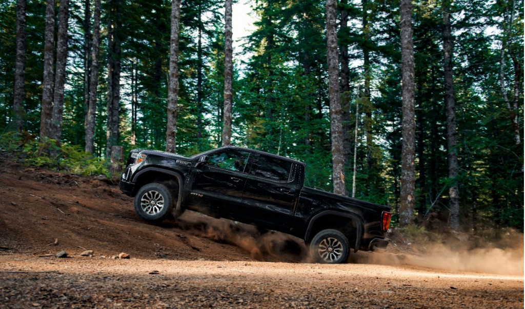 2019 GMC Sierra AT4 with off-road performance package
