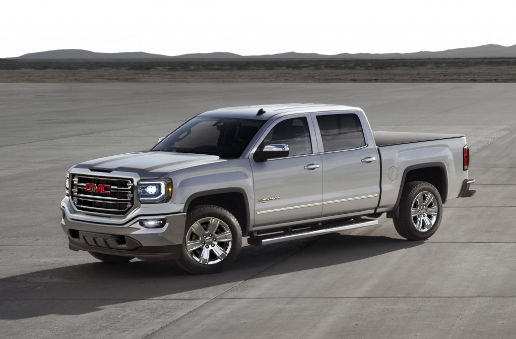 2018 gmc sierra eassist hybrid pickup to be sold nationwide. Black Bedroom Furniture Sets. Home Design Ideas