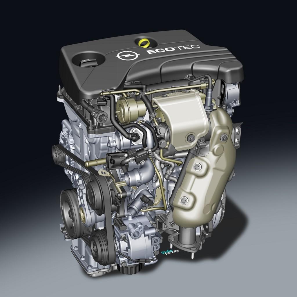 GM's Opel 1.0-liter SIDI turbocharged three-cylinder engine - 2013 Frankfurt Auto Show