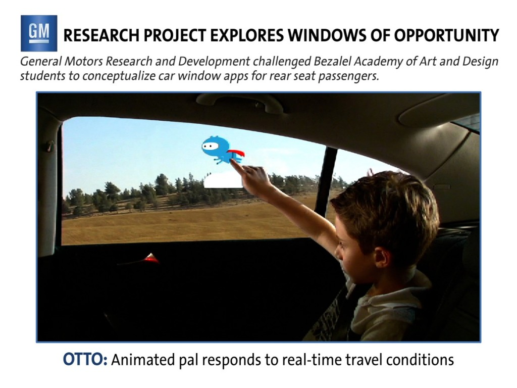 Interactive Windows: A Possibility For Future Family Vehicles?