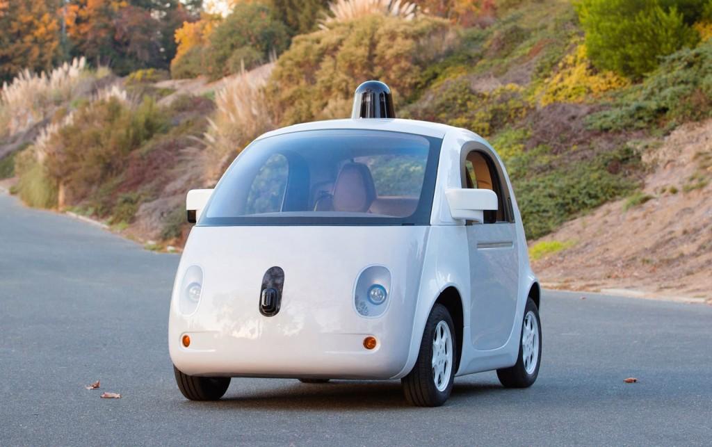Google autonomous car prototype
