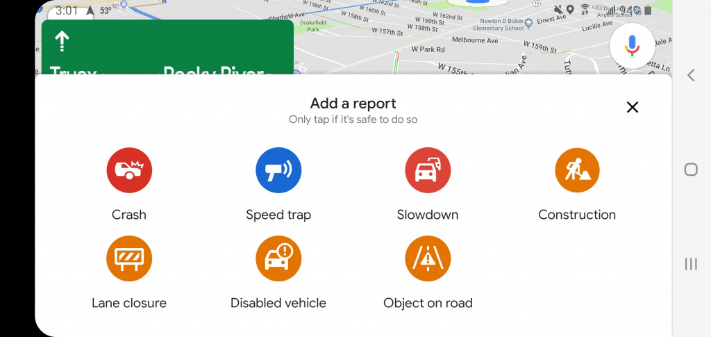 Google Maps gets Waze-like user reporting features on iPhone