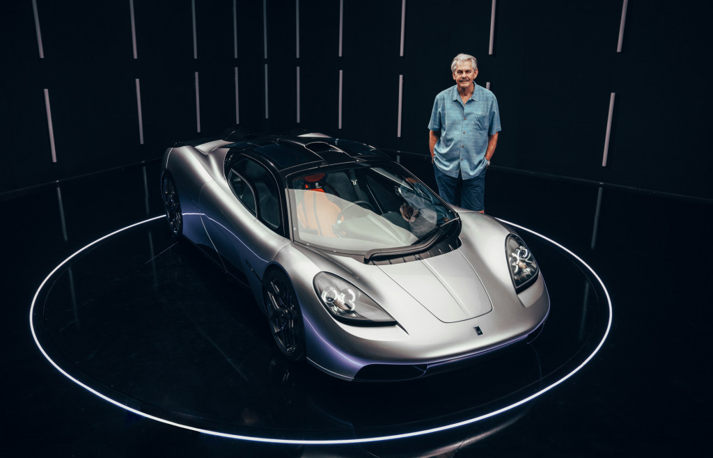 Gordon Murray and the T.50
