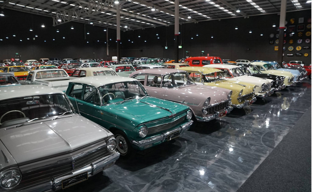 150 cars from Gosford car museum up for grabs, including Aston DB5 and Porsche 911 R