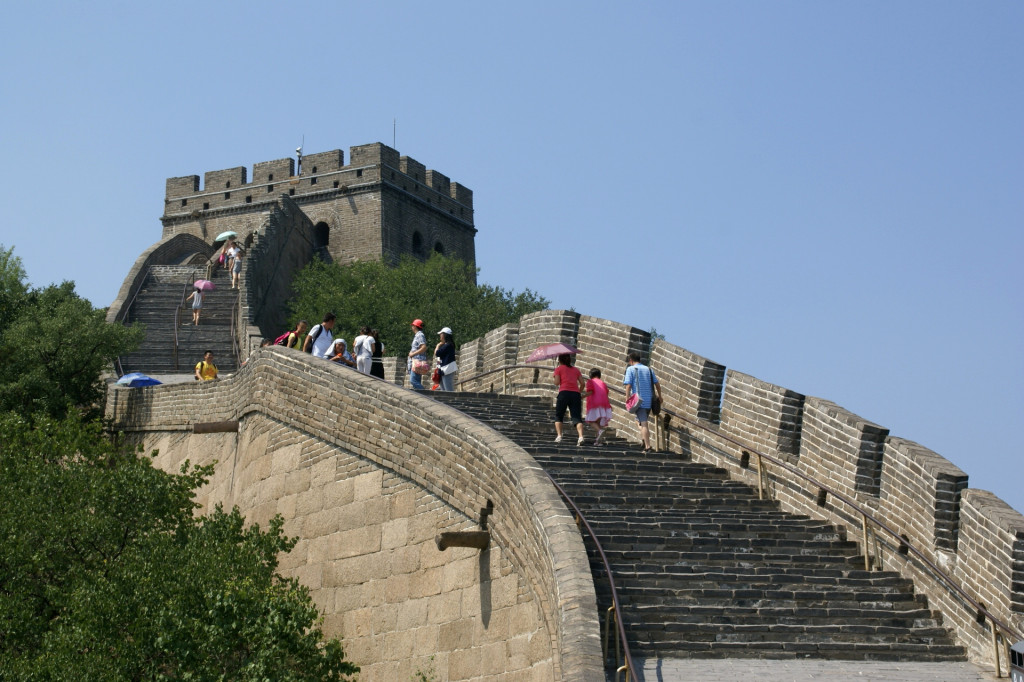 Great Wall of China (via Wikimedia)