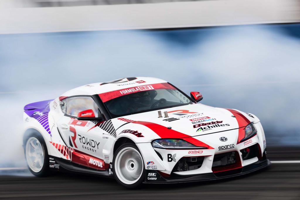 GReddy 2021 Toyota Supra drift car