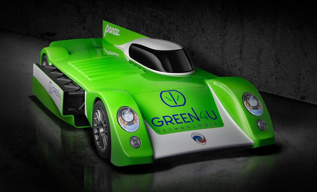 green4u electric race car revealed targets le mans may spawn street legal variant. Black Bedroom Furniture Sets. Home Design Ideas