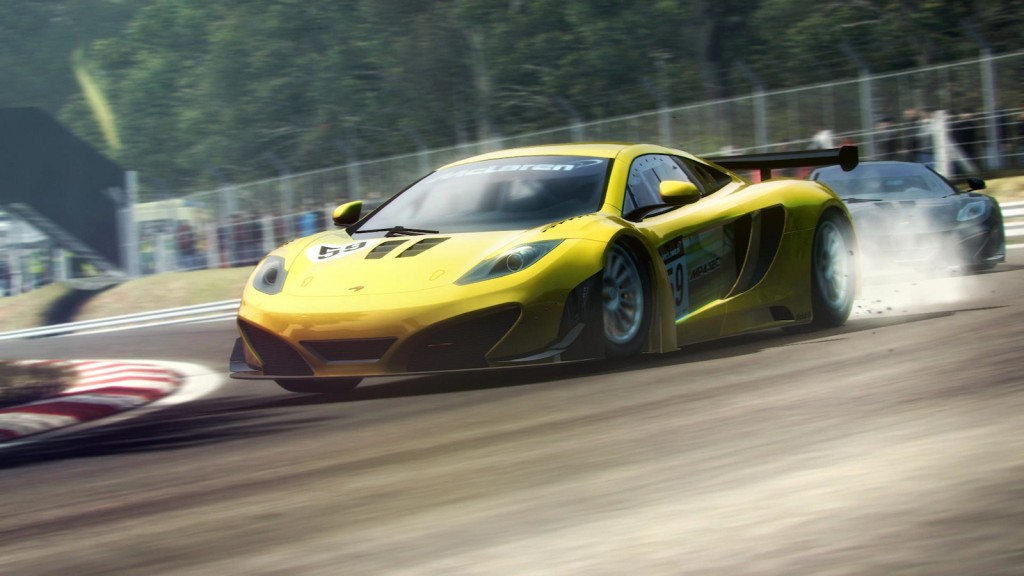 Grid 2's McLaren Racing Pack, available from GameStop