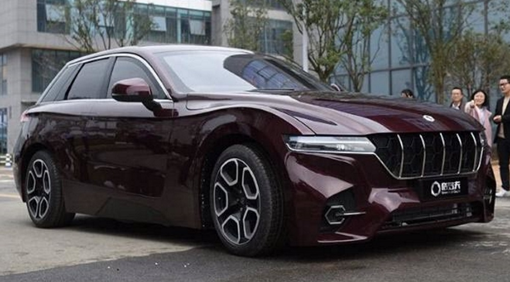 Grove launches hydrogen fuel-cell car brand in China