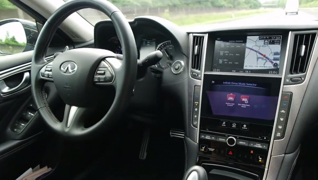 This Moron Left The Driver's Seat In A Self-Driving Infiniti Q50 On The Highway: Video