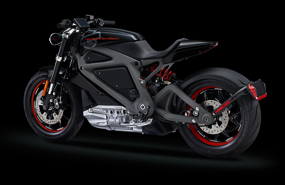 Harley Davidson LiveWire electric motorcycle prototype