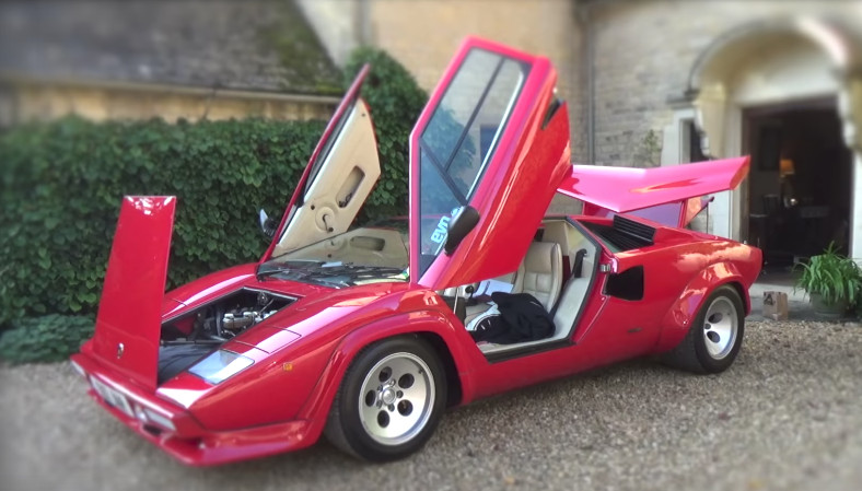 Let S Road Trip With Harry Metcalfe And His Lamborghini Countach