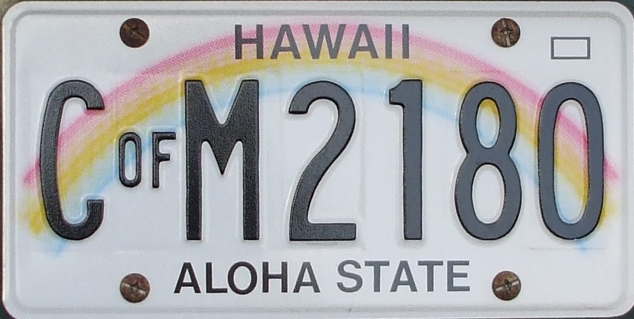 wyoming, hawaii have america's favorite license plates, delaware not
