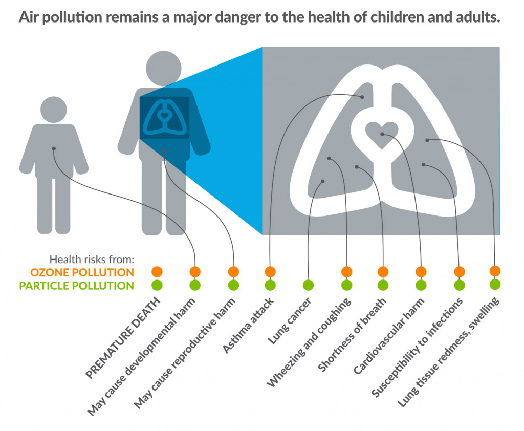 Health issues due to air pollution. - American Lung Association