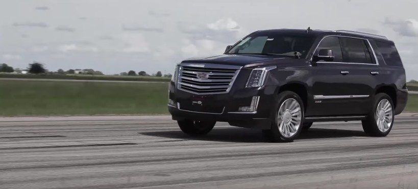 Hennessey builds 842-horsepower Cadillac Escalade