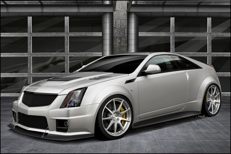 Hennessey Working On 1 000 Horsepower Cadillac Cts V Coupe